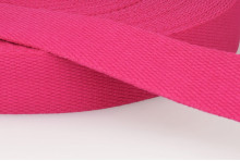 SANGLE COTON 30 MM FUCHSIA
