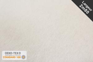 TISSU TOILE COTON 1/2 NATTÉE BLANC