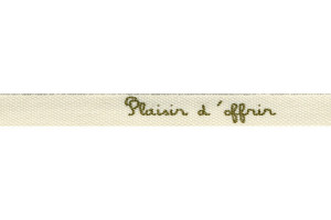 copy of RUBAN SERGÉ COTON 20 MM ÉCRU