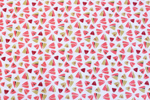 COUPON FARFALLE ROUGE 50 X 70 CM