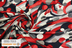 TISSU JERSEY FRENCHY ROUGE