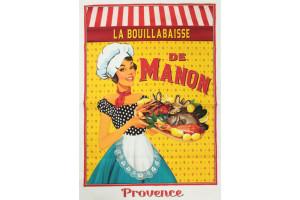 TORCHON PROVENCE LA BOUILLABAISSE DE MANON