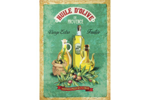 TORCHON PROVENCE HUILE D'OLIVE EXTRA VIERGE