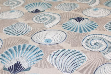 TOILE ENDUITE COQUILLAGES