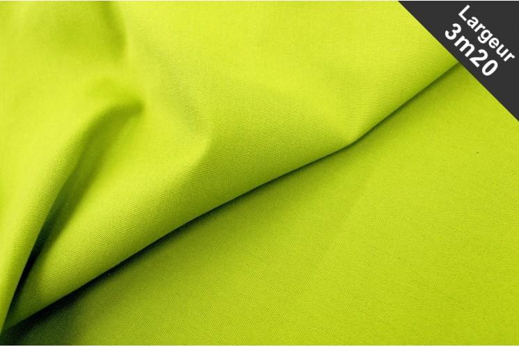 tissu ext rieur uni pistache tissus plus. Black Bedroom Furniture Sets. Home Design Ideas