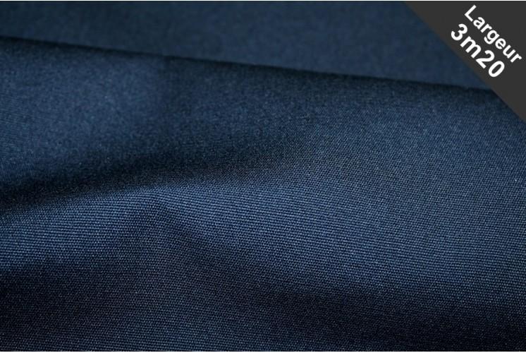 tissu ext rieur uni bleu marine tissus plus. Black Bedroom Furniture Sets. Home Design Ideas