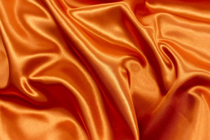 SATIN ORANGE FONCÉ