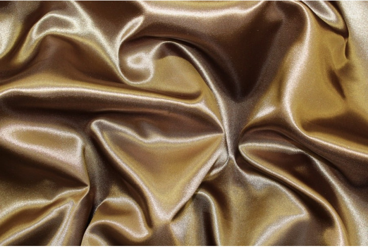 SATIN MARRON GLACÉ
