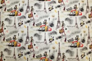 SIMILI CUIR PARISIEN TOUR EIFFEL