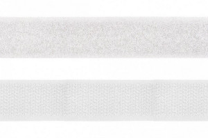FERMETURE ACCROCHANTE 20 MM BLANC