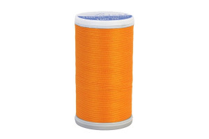 BOBINE DE FIL COTON 100 M ORANGE CLAIR
