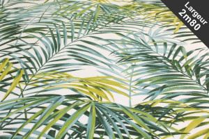 TISSU COTON TROPICAL PALMIERS PALM SPRINGS