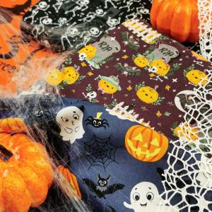 Nos tissus pour votre fête d'Halloween sont arrivés !!  🎃🥳👻💀👺🦹🧛🧙♂️🧟
