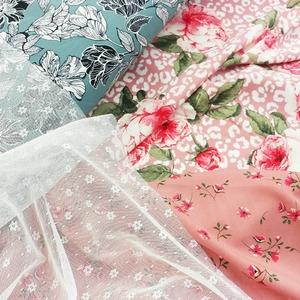 Notre collection de tissus MODE s'agrandit ! 😊  👉 Habillement / Mode unie-imprimée / dentelle / mousseline /  viscose / crêpe  👕👗👚🎽👖👘👒🎀