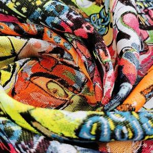 Créez des accessoires FUN avec ces jacquard ! 🤩  👍 Jupes / sacs à dos / coussins / veste / dessus de chaises  👌🥰😎💯