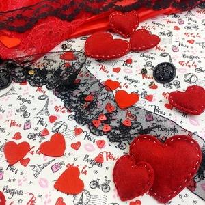 Bientôt la St Valentin 💞... Trouvez votre coup de ❤ chez Tissus + ! 💐🎉🍫🎁🌹🌈