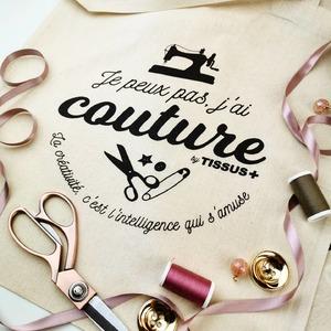"""🖱️www.tissusplus.com  👉🏻 Pour toute commande de plus de 100€, nous vous offrons un Tote bag """"Je peux pas j'ai couture"""" !  🌹👌💕  #totebag #jepeuxpasjaicouture #passioncouture #instacouture #machineacoudre #creatif #tissusaddict #instadiy #jecoudsdoncjesuis #shoponline"""