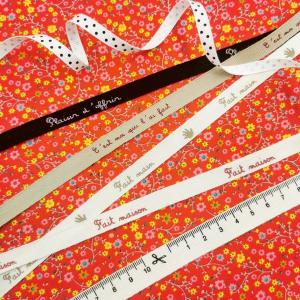 Les petites finitions font les jolis projets couture 😋  🎀🧵✂️📏  #mercerie #ruban #cestmoiquilaifait #faitavecamour #faitmaison #faitmain #plaisirdoffrir #faitavectendresse #rubanmetreur #rubancouture #magasindetissus