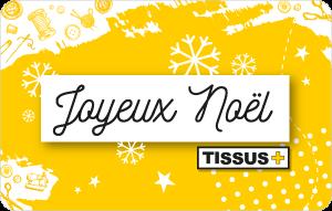 Carte cadeau Joyeux Noël